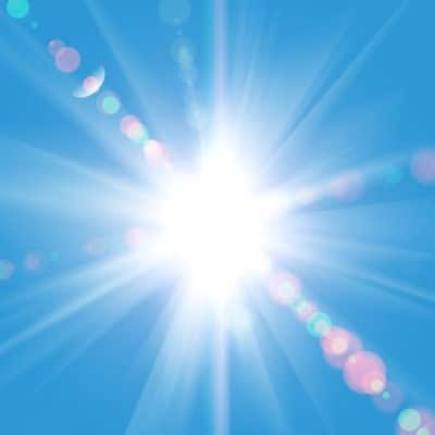 photo of sunlight