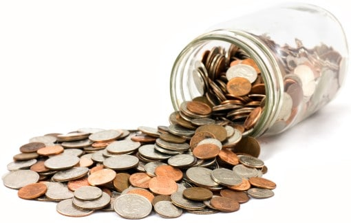 coins in money jar is all something people have who can't afford a sleep study