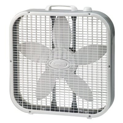 picture of box fan which may be the best fan for white noise for some people