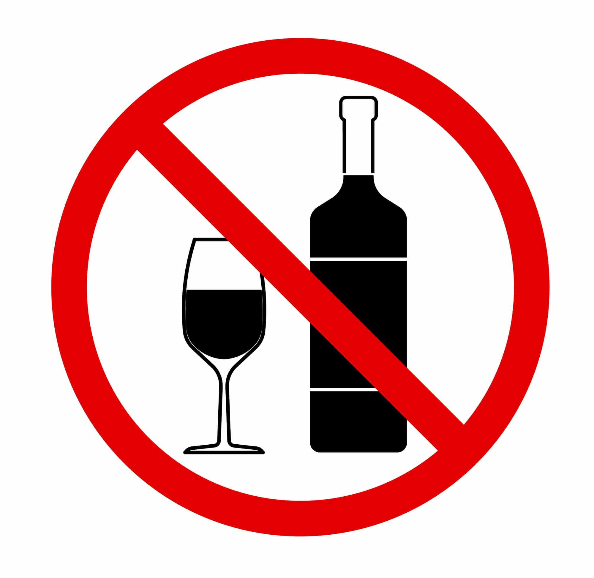 no alcoholic drinks drawing showing something else to do besides using your spouse's cpap machine