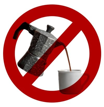 no coffee symbol for people waking up in the middle of the night to smoke