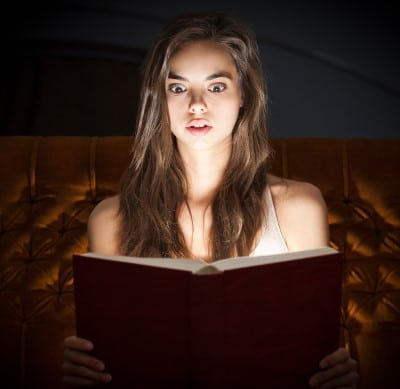 If you really enjoy reading, schedule it in.  Some people start there bedtime routine when they start to feel sleepy.  If your normal bedtime is 10 o'clock, get ready for bed at 9 so you have plenty of time to read.