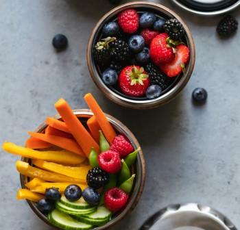 photo of healthy vegetables and fruit