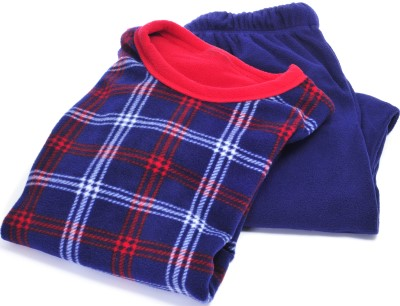 photo of flannel pajamas to keep someone warm if they're too cold to sleep