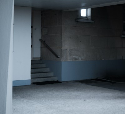 photo of basement in house